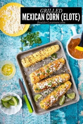 Grilled Mexican Corn Elote title image
