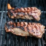 How to Grill Perfect New York Strip & Portobello Mushroom Steaks