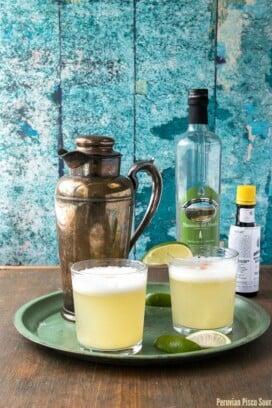 Peruvian Pisco Sour {Latin Twist - Hippocrene Books}. BoulderLocavore.com