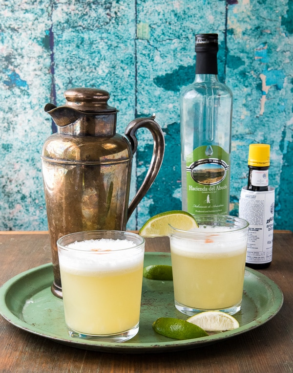Peruvian Pisco Sour cocktail recipe