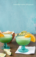 Honeydew Melon Margaritas