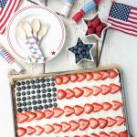 American Flag Fruit Cookie Dessert Pizza - BoulderLocavore.com