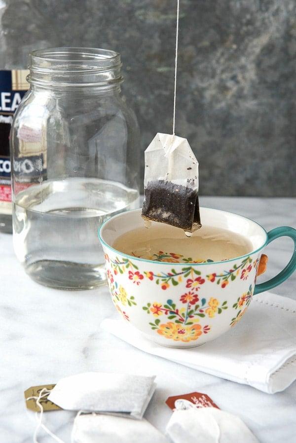 Double Infused Earl Grey Tea Liqueur - tutorial - BoulderLocavore