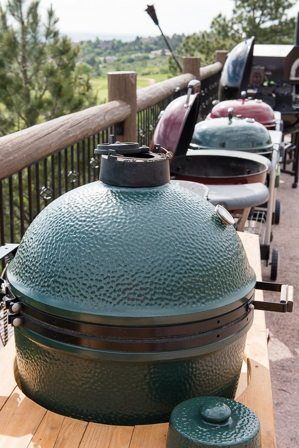Green Egg and Weber Kettlees - BoulderLocavore