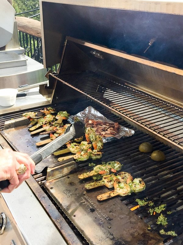 Green Lightening Shrimp and grill shield - BoulderLocavore