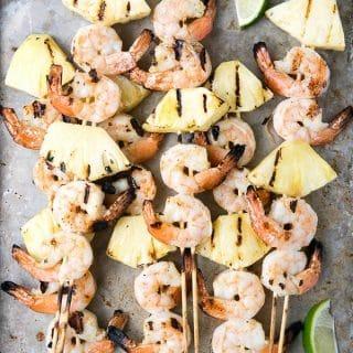 Grilled Thai Shrimp-Pineapple Skewers - BoulderLocavore