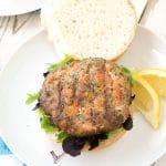 Hay-Smoked Salmon Burgers and BBQU 2015 Food