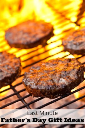 burgers on grill with flame