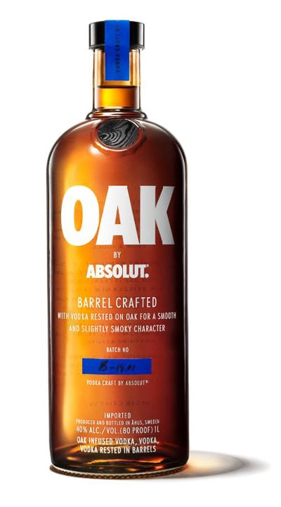Oak by Absolut Barrel aged Vodka - BoulderLocavore_