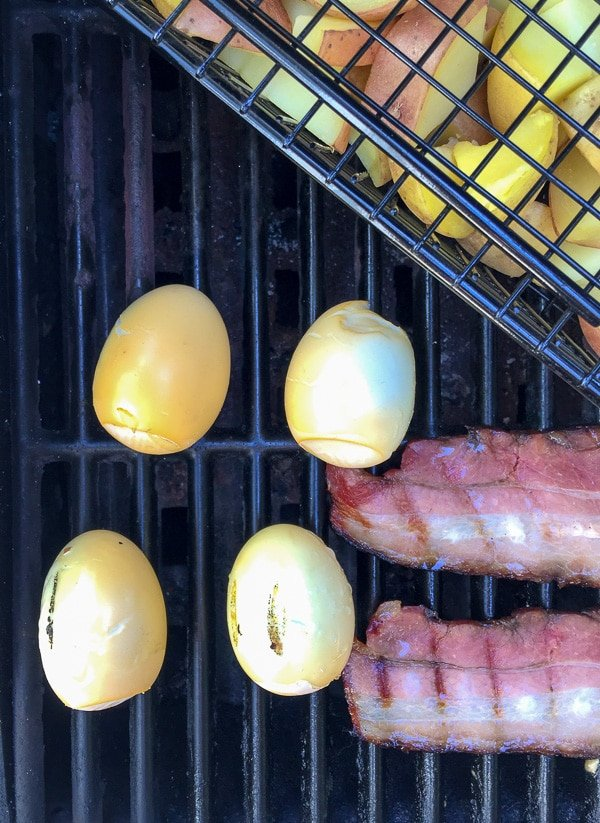 Smoked Hard Boiled Eggs - BoulderLocavore