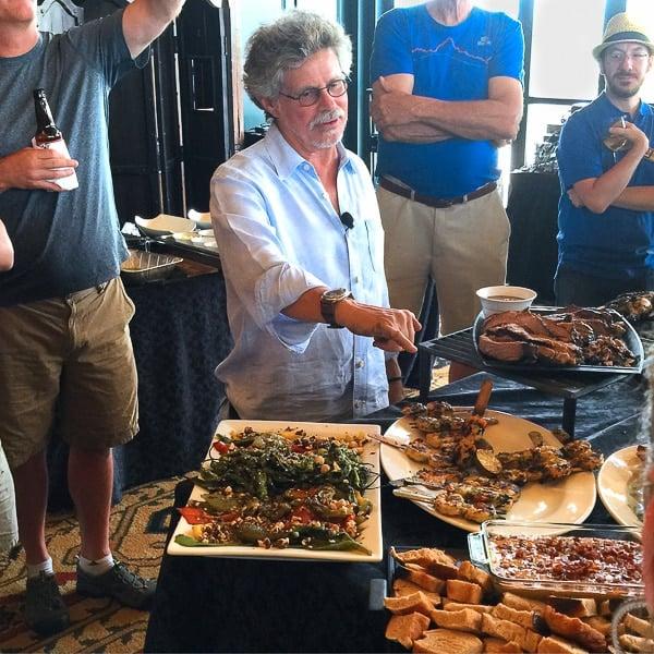 Steven Raichlen at BBQU 2015 - BoulderLocavore