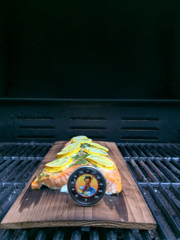 Using an thermometer when grilling - BoulderLocavore