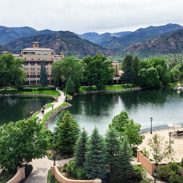 View from Broadmoor room - BoulderLocavore