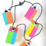 DIY Duct Tape Milk Carton Garden Lanterns