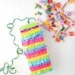 How to Make a Rainbow Milk Carton Pinata