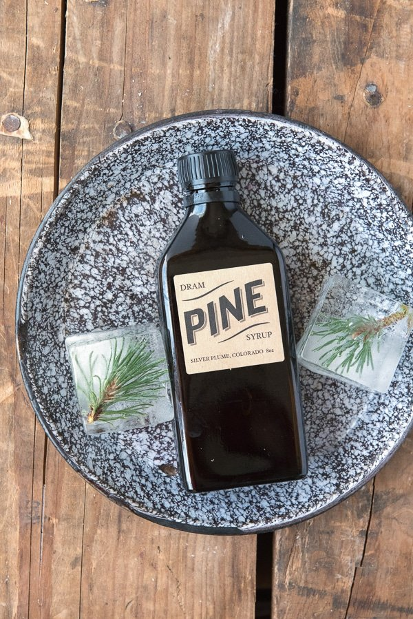 Mountain Pine Whiskey Cooler cocktail -Pine Syrup - BoulderLocavore.com