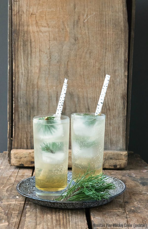 Mountain Pine Whiskey Cooler cocktail - BoulderLocavore.com