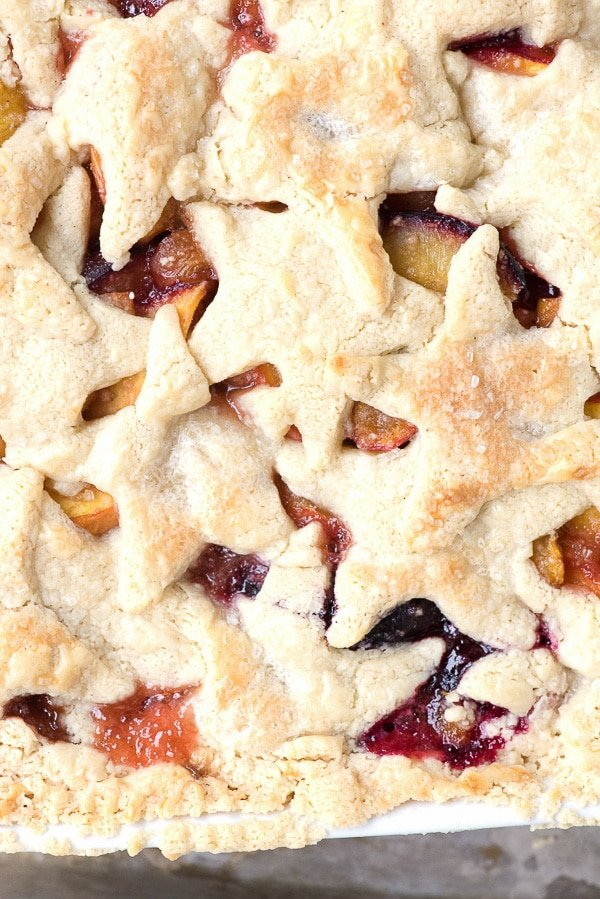 Stone Fruit Slab Pie - BoulderLocavore.com