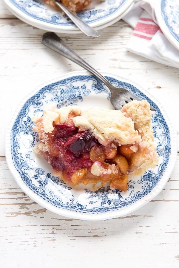 Stone Fruit Slab Pie (gluten-free) - BoulderLocavore.com