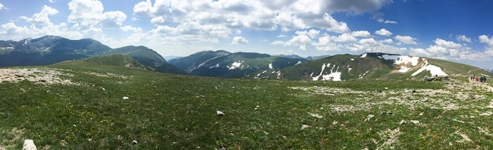 iPhone Pano Trail Ridge Road - Rocky Mtn Natl Park - BoulderLocavore.com