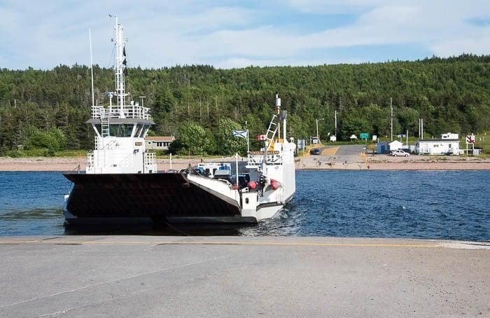 Car Ferry, Cabot Trail, Cape Breton Canada - BoulderLocavore.com
