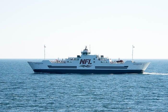 Car Ferry, Cape Breton Canada - BoulderLocavore.com