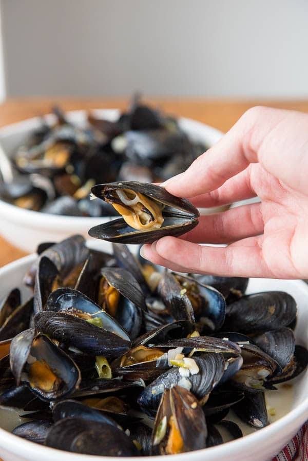 How to Eat a Mussel Tips - BoulderLocavore.com
