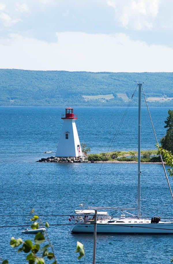 Lighthouse Baddeck, Cape Breton Canada - BoulderLocavore.com