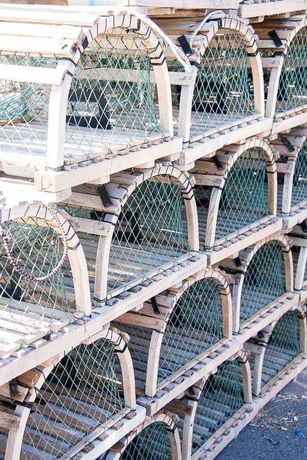 Lobster traps, Prince Edward Island - BoulderLocavore.com