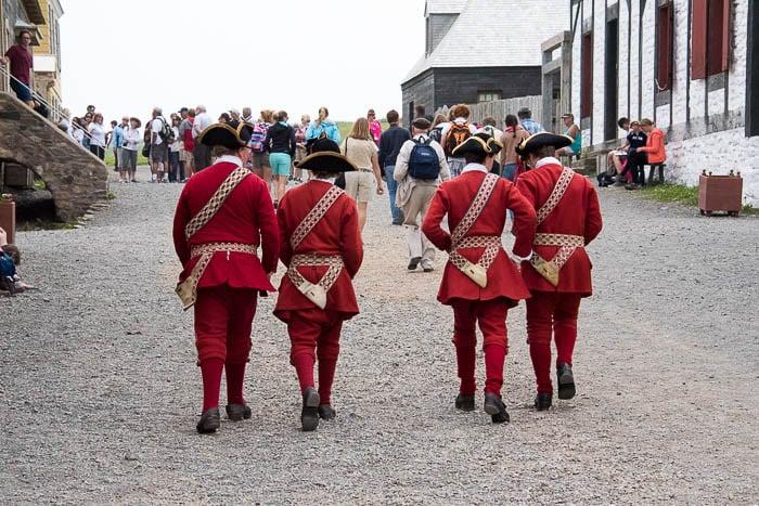 Military, Fortress of Louisbourg, Cape Breton Canada - BoulderLocavore.com