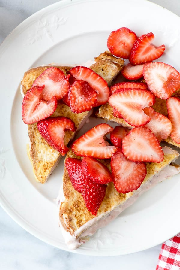 Strawberry Stuffed French Toast - BoulderLocavore.com