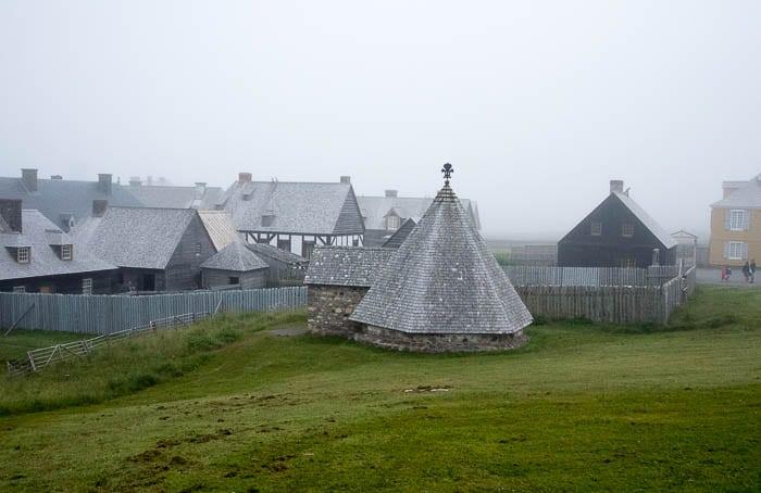 Village, Fortress of Louisbourg, Cape Breton Canada - BoulderLocavore.com
