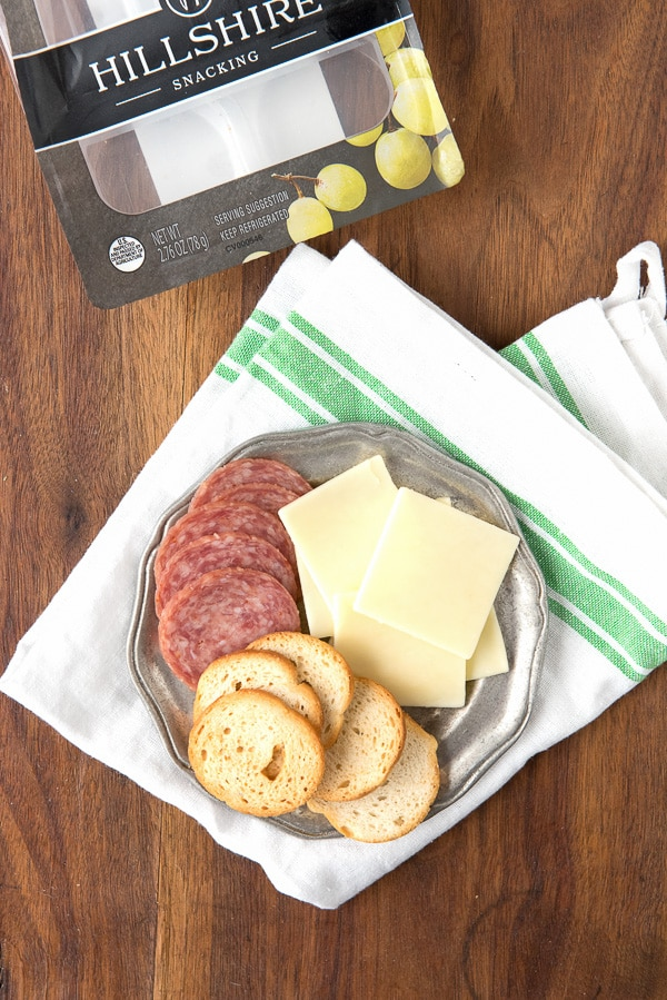 Adult Snacking- Crackers, Cheese and Salame - BoulderLocavore.com