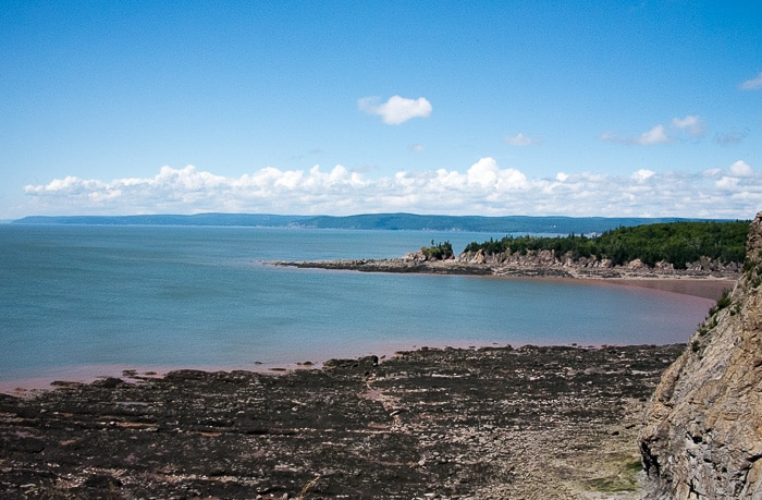 Bay of Fundy, Cape Enrage view - BoulderLocavore.com