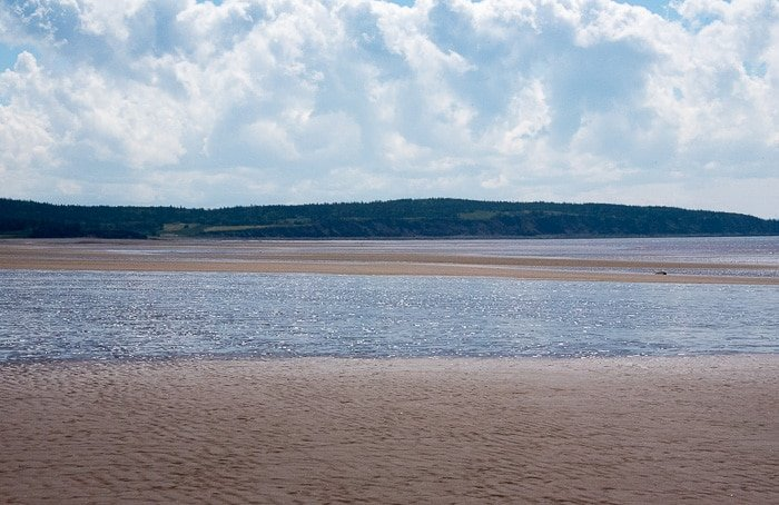 Bay of Fundy, Waterside Beach low tide - BoulderLocavore.com