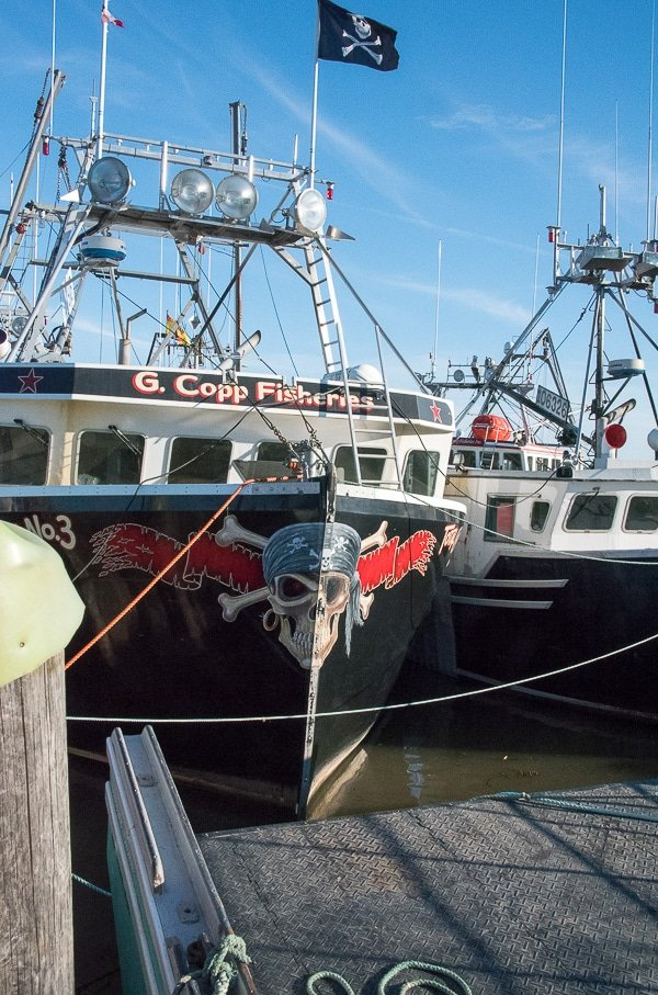 Bay of Fundy, pirate boat at high tide - BoulderLocavore.com