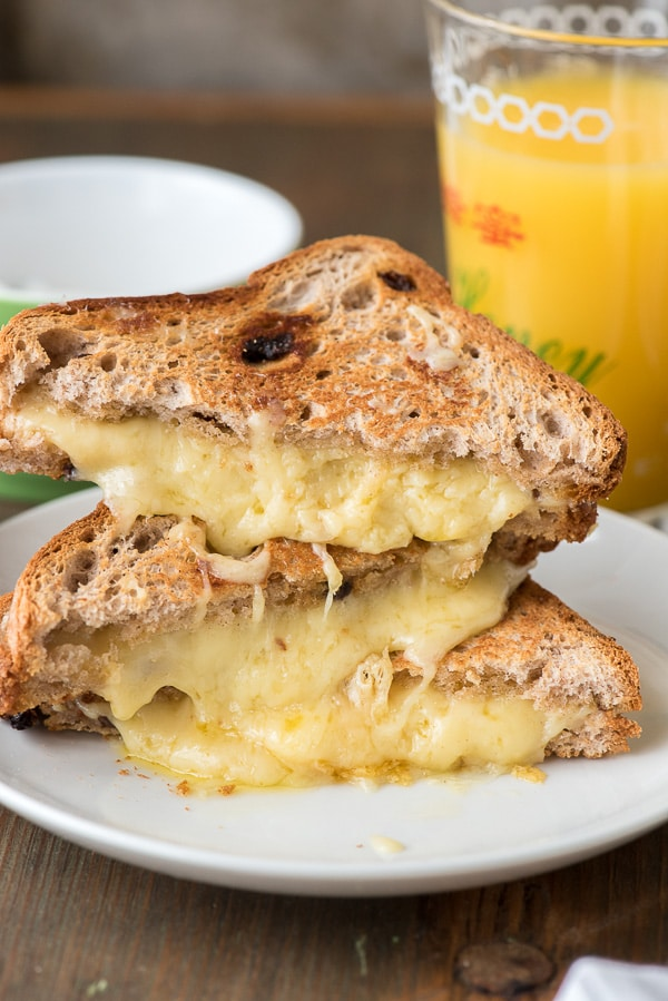 Breakfast Grilled Cheese Sandwich - BoulderLocavore.com