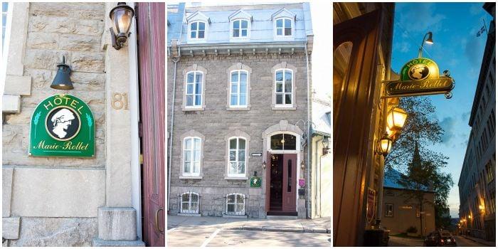 Old Quebec City, Hotel Marie-Rollet BoulderLocavore.com