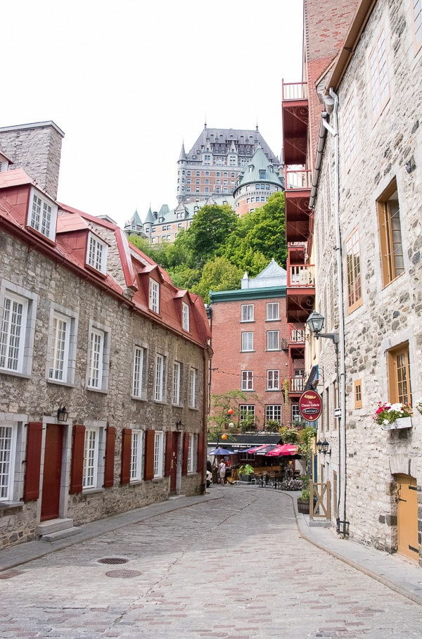 Quebec City, Lower Town and Chateau Frontenac BoulderLocavore.com