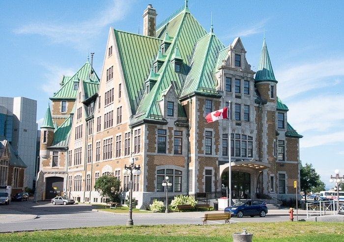 Quebec City, Upper City Architecture BoulderLocavore.com