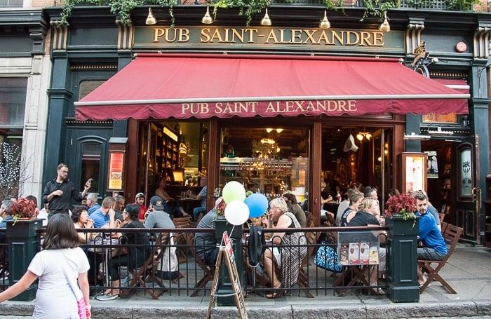 Quebec City, Upper City Pub Saint-Alexandre BoulderLocavore.com