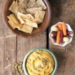 Spicy Chipotle Pumpkin Hummus. A 5 minute recipe! - BoulderLocavore.com