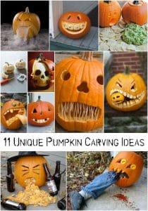 11 Unique Pumpkin Carving Ideas
