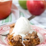 Shortcut Cinnamon Caramel Apple Bars