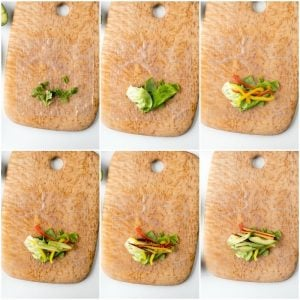 How to Make fresh Spring Rolls recipe steps