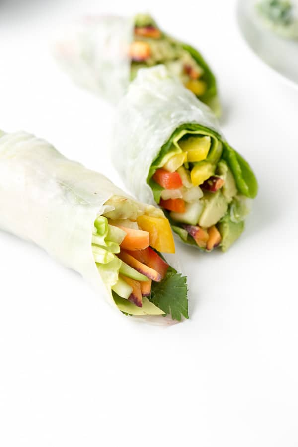DIY Vietnamese Spring Rolls - vegetarian - BoulderLocavore.com