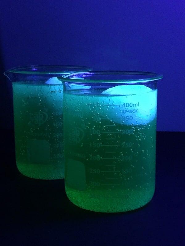 Glowing Infected Brain Cocktails (glow in the dark) - BoulderLocavore.com