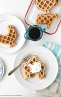 Gluten-Free Maple-Pecan Waffles