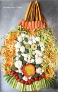 Screaming Witch Crudités for Halloween