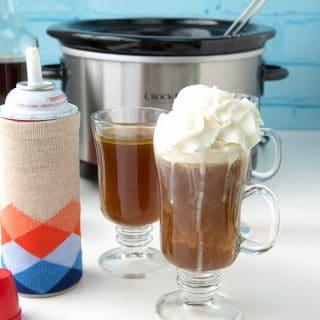 Slow Cooker Hot Buttered Rum self-serve - BoulderLocavore.com